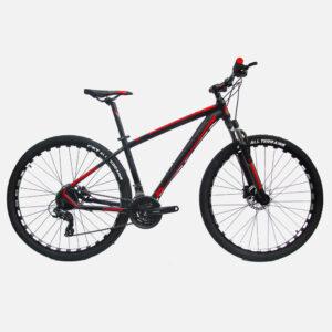 bicicleta-fusion-xandar-negro-rojo