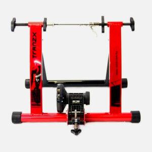 g-rodillo-bicicleta-tranzx-magnetico-rojo-frontal
