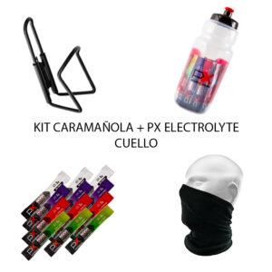 KIT CARAMAÑOLA + PX ELECTROLYTE + CUELLO
