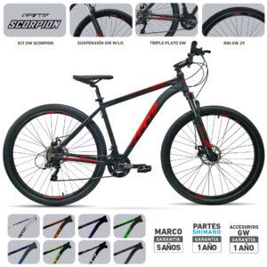 bicicleta-gw-scorpion-detalles