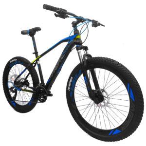 bicicleta-profit-jasper-negro-azul-oblicua