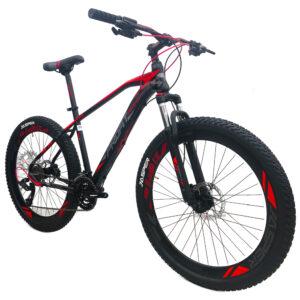 bicicleta-profit-jasper-negro-rojo-oblicua