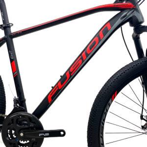 bicicleta-fusion-kosmos-marco-negro-rojo