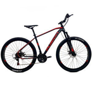 bicicleta-fusion-kosmos-negro-rojo
