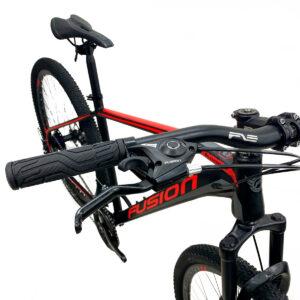 bicicleta-fusion-kosmos-palancas-negro-rojo