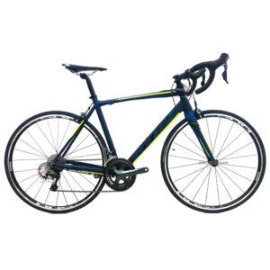 bicicleta-gw-flamma-ruta-2021-azul-petroleo-amarillo-neon