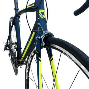 bicicleta-gw-flamma-ruta-2021-azul-petroleo-amarillo-neon-llantas