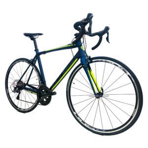 bicicleta-gw-flamma-ruta-2021-azul-petroleo-amarillo-neon-oblicua