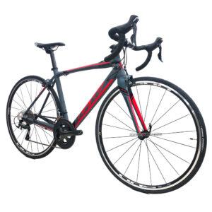 bicicleta-gw-flamma-ruta-2021-gris-rojo-oblicua