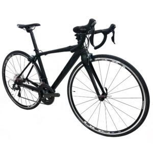 bicicleta-gw-flamma-ruta-2021-negro-oblicua