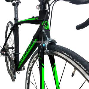 bicicleta-gw-flamma-ruta-2021-negro-verde-llantas