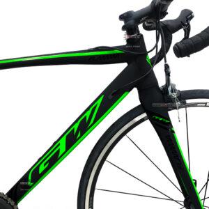bicicleta-gw-flamma-ruta-2021-negro-verde-marco